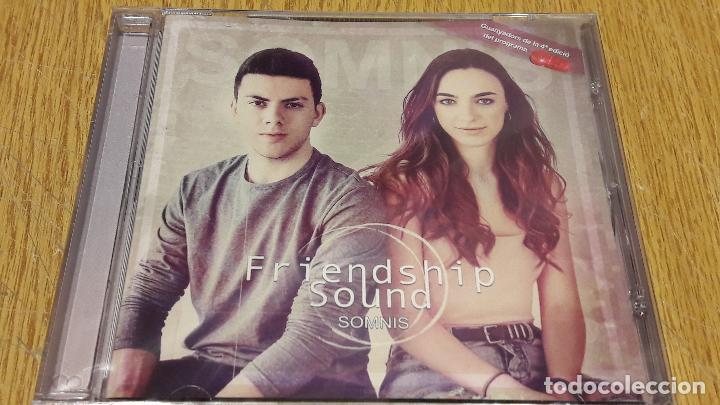 FRIENDSHIP SOUND / SOMNIS / CD / MUSICA GLOBAL / 13 TEMAS / PRECINTADO - 2017 (Música - CD's Pop)