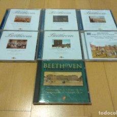 CDs de Música: LOTE 7 CD VARIOS BEETHOVEN MUY BUEN ESTADO. Lote 108784991