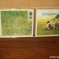 CDs de Música: OUT OF AFRICA - CD BANDA SONORA ORIGINAL ARTISTAS VARIOS PRODUCIDO POR JOHN BARRY. Lote 108814715