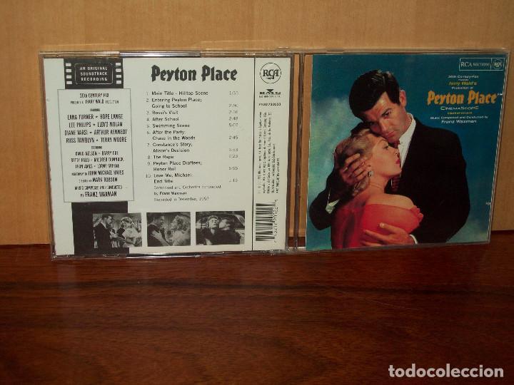 PEYTON PLACE - MUSICA DE FRANZ WAXMAN - CD BANDA SONORA ORIGINAL BSO (Música - CD's Bandas Sonoras)