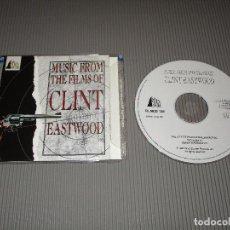 CDs de Música: MUSIC FROM THE FILMS OF CLINT EASTWOOD - CD - FILMCD 138 - SILVA SCREEN. Lote 108817175
