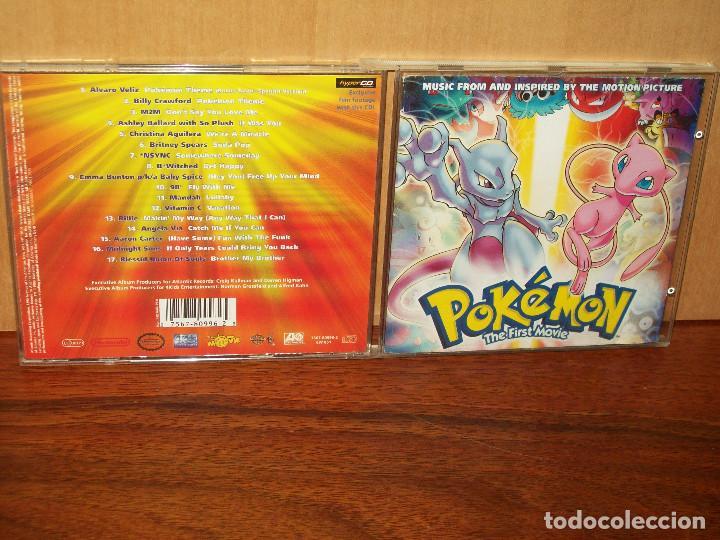 Pokemon The First Movie Cd Banda Sonora Buy Cd S Of