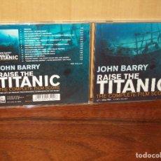CDs de Música: RAISE THE TITANIC - MUSICA DE JOHN BARRY - CD BANDA SONORA ORIGINAL BSO. Lote 108823467