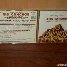 CDs de Música: RIO CONCHOS -MUSICA DE JERRY GOLDSMITH - CD BANDA SONORA ORIGINAL BSO. Lote 108824395