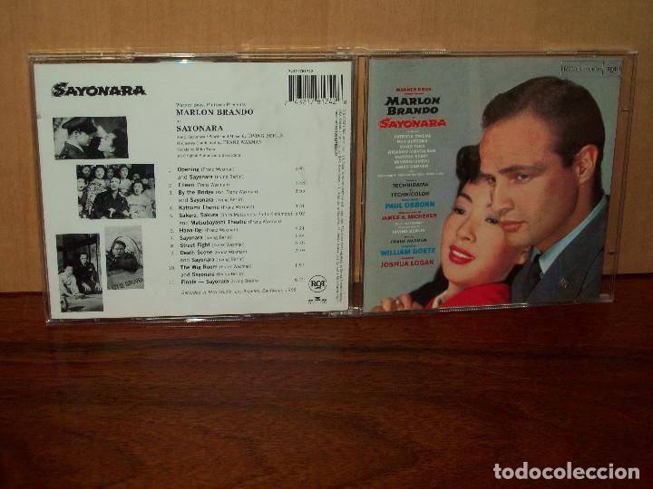 SAYONARA - MUSICA DE FRANZ WAXMAN - CD BANDA SONORA ORIGINAL BSO (Música - CD's Bandas Sonoras)