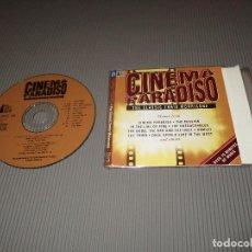CDs de Música: CINEMA PARADISO ( THE CLASSIC ENNIO MORRICONE ) - CD - FILMCD 148 - SILVA SCREEN. Lote 108831647