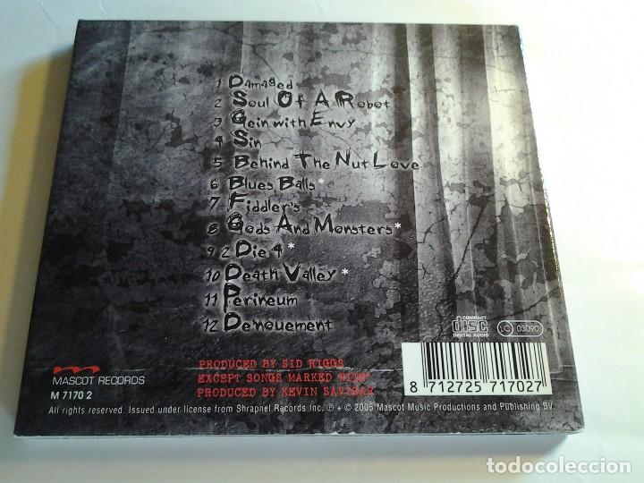 CDs de Música: John 5, Songs for Sanity, Shrapnel Records, Mascot Music 2005, Estados Unidos, USA - Foto 3 - 108865791