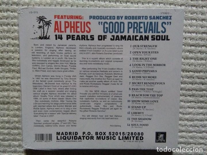 CDs de Música: ALPHEUS - GOOD PREVAILS CD SPAIN 2014 SEALED - Foto 2 - 108871667