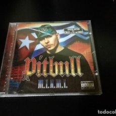 CDs de Música: CD PITBULL MIAMI M.I.A.M.I REGGAETON . Lote 108920971