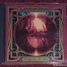CDs de Música: HEROES DEL SILENCIO (EL ESPIRITU DEL VINO) CD 1993. Lote 108930851