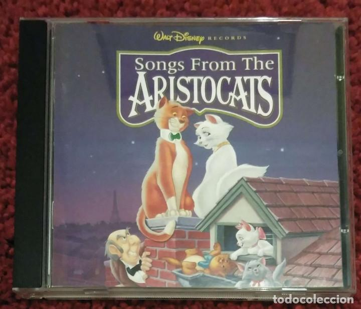 B.S.O. SONGS FROM THE ARISTOCATS (B.S.O. LOS ARISTOGATOS) CD 1996 WALT DISNEY (Música - CD's Bandas Sonoras)