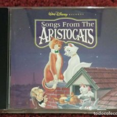 CDs de Música: B.S.O. SONGS FROM THE ARISTOCATS (B.S.O. LOS ARISTOGATOS) CD 1996 WALT DISNEY. Lote 108986651
