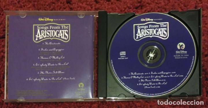 CDs de Música: B.S.O. SONGS FROM THE ARISTOCATS (B.S.O. LOS ARISTOGATOS) CD 1996 WALT DISNEY - Foto 3 - 108986651