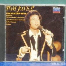 CDs de Música: TOM JONES. THE GOLDEN HITS. POLYGRAN 1992. CD. Lote 108995315