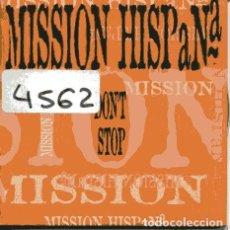 CD de Música: MISSION HISPANA / DON'T STOP / EL SON DEL AMERICANO (CD SINGLE CARTON PROMO 1998). Lote 109024963
