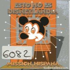 CD de Música: MISSION HISPANA / ESTO NO ES DISNEYLANDIA (CD SINGLE CARTON PROMO 1996). Lote 109025175