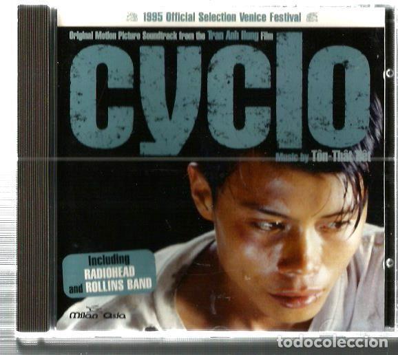 CD CYCLO (SOUNTRACK) MUSICA DE THON-THAN-TIET (INCLUYE TEMAS RADIOHEAD Y ROLLINS BAND) (Música - CD's Bandas Sonoras)