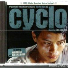 CDs de Música: CD CYCLO (SOUNTRACK) MUSICA DE THON-THAN-TIET (INCLUYE TEMAS RADIOHEAD Y ROLLINS BAND) . Lote 109031695