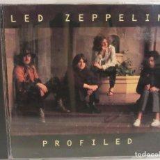 CDs de Música: LED ZEPPELIN - PROFILED - CD - PROMO - 1990 - USA - EX+/EX+. Lote 109035627