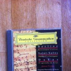 CD di Musica: DEUTSCHE GRAMMOPHON COLLECTION - BERLIOZ - SAINT-SAËNS - DUKAS ( JAMES LEVINE ). Lote 109075931