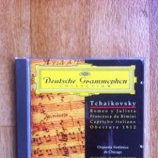 CD di Musica: DEUTSCHE GRAMMOPHON COLLECTION - TCHAIKOVSKY ( DANIEL BARENBOIM ). Lote 109077447