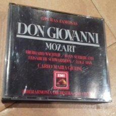 CDs de Música: OPERAS FAMOSAS.DON GIOVANNI.MOZART.. Lote 109093220