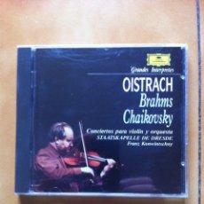 CD di Musica: GRANDES INTERPRETES - OISTRACH - BRAHMS - CHAIKOVSKY - CONCIERTOS PARA VIOLIN . Lote 109100447