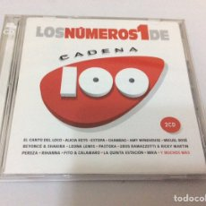 CDs de Música: LOS NÚMEROS 1 DE CADENA 100. DOS CD. 2008. Lote 109104967