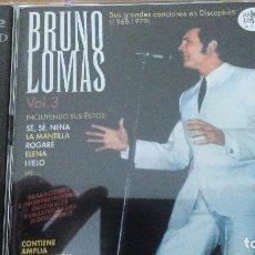 CDs de Música: BRUNO LOMAS VOL. 3 (1968-1979) RAMA LAMA 2XCDS LIBRETO ( RO 52022 ). Lote 109107779