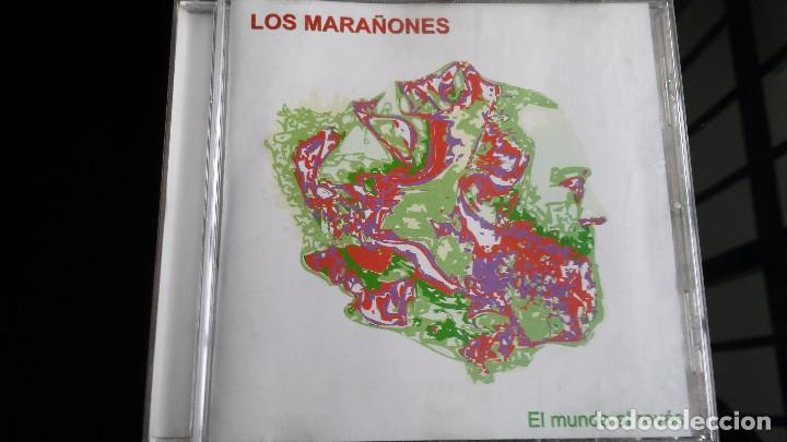 CD LOS MARAÑONES EL MUNDO AL REVÉS (Música - CD's Rock)