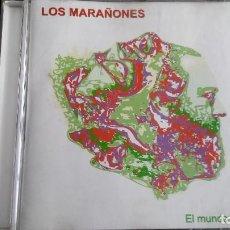 CDs de Música: CD LOS MARAÑONES EL MUNDO AL REVÉS. Lote 109111883
