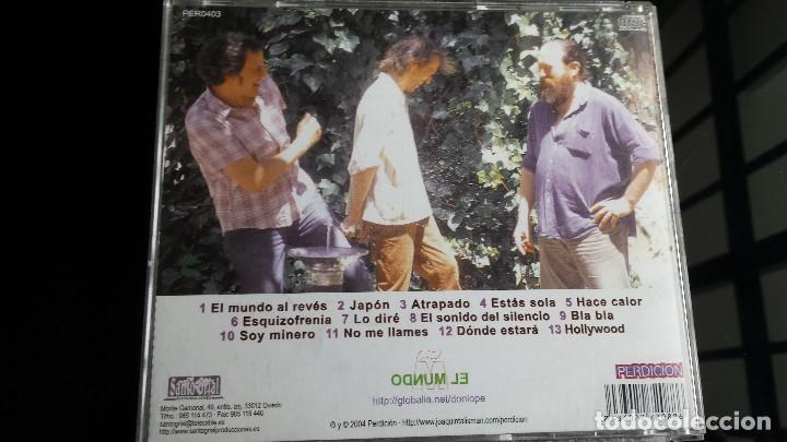 CDs de Música: CD LOS MARAÑONES EL MUNDO AL REVÉS - Foto 2 - 109111883