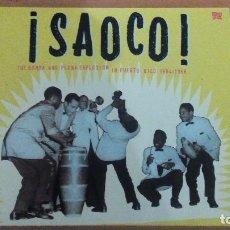 CDs de Música: ¡SAOCO! THE BOMBA AND PLENA EXPLOSION IN PUERTO RICO 1954-1966 DOBLE CD ESTUCHE VAMPI. Lote 109112443