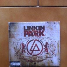 CD de Música: LINKIN PARK ROAD TO REVOLUTION LIVE AT MILTON KEYNES CD + DVD DIGIPACK FOLLETO DEL AÑO 2008 RARO. Lote 109112947