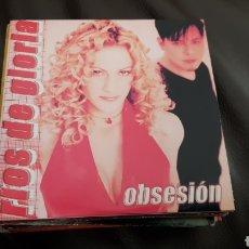 CDs de Música: RÍOS DE GLORIA- OBSESION ( CD SINGLE PROMO ). Lote 109155919