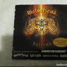 CDs de Música: CD PROMOCIONAL MOTORHEAR PROMOCIONAL 6 GRUPOS. Lote 109192227