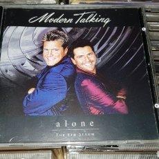 CDs de Música: MODERN TALKING ALONE CD ALBUM. Lote 109194088