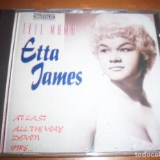 CDs de Música: ETTA JAMES. TELL MAMA. . Lote 109197399