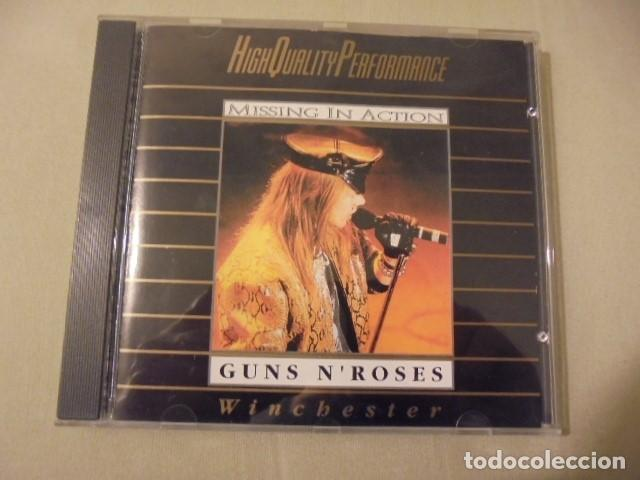 GUNS N ROSES - WINCHESTER - MISSING IN ACTION - VERSIONES DE TEMAS AJENOS CLASICOS (Música - CD's Heavy Metal)