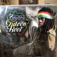 CDs de Música: RICHIE SPICE-GIDEON BOOT-PRECINTADO NUEVO. Lote 109265107