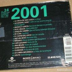 CDs de Música: 2001 LAS CANCIONES DE NUESTRA VIDA - IMPECABLE SIN USO- IMPORTANTE LEER DESCRIPCION Y ENVIOS. Lote 109277807