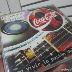 CDs de Música: LA MEJOR MUSICA COCA COLA PARA VIVIR LA PASION DEL MUNDIAL CD 7 TEMAS 1998. TEXAS INXS.. SCORPIONS... Lote 109319563
