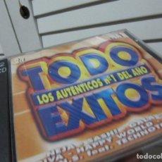 CDs de Música: TODO EXITOS: LOS AUTÉNTICOS NÚMEROS 1 DEL AÑO. VOL 1. VALE MUSIC. Lote 109320883