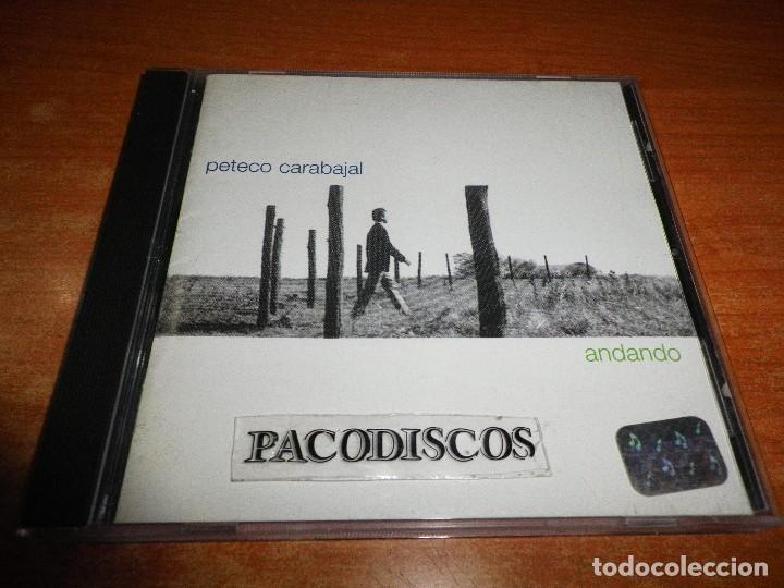 PETECO CARABAJAL ANDANDO CD ALBUM DEL AÑO 1998 ARGENTINA CONTIENE 16 TEMAS (Música - CD's Latina)