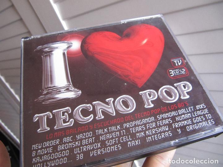 I love tecno pop 3 cd 38 tracks - Sold through Direct Sale