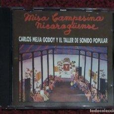 CDs de Música: CARLOS MEJIA GODOY Y EL TALLER DE SONIDO POPULAR (MISA CAMPESINA NICARAGÜENSE) CD 1994. Lote 109366915