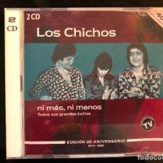 CDs de Música: LOS CHICHOS NI MÁS NI MENOS 40 GRANDES ÉXITOS 2 CD. Lote 109373971
