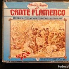 CDs de Música: MEDIO SIGLO DE CANTE FLAMENCO PREMIO NACIONAL 1987 4 CD. Lote 109375579