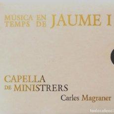 CDs de Música: MÚSICA EN TEMPS DE JAUME I - CARLES MAGRANER. Lote 109396947