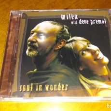 CDs de Música: MITEN WITH DEVA PREMAL , SOUL IN WONDER. Lote 109411935